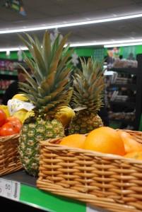 Фото: обновленный супермаркет Точка, фрукты